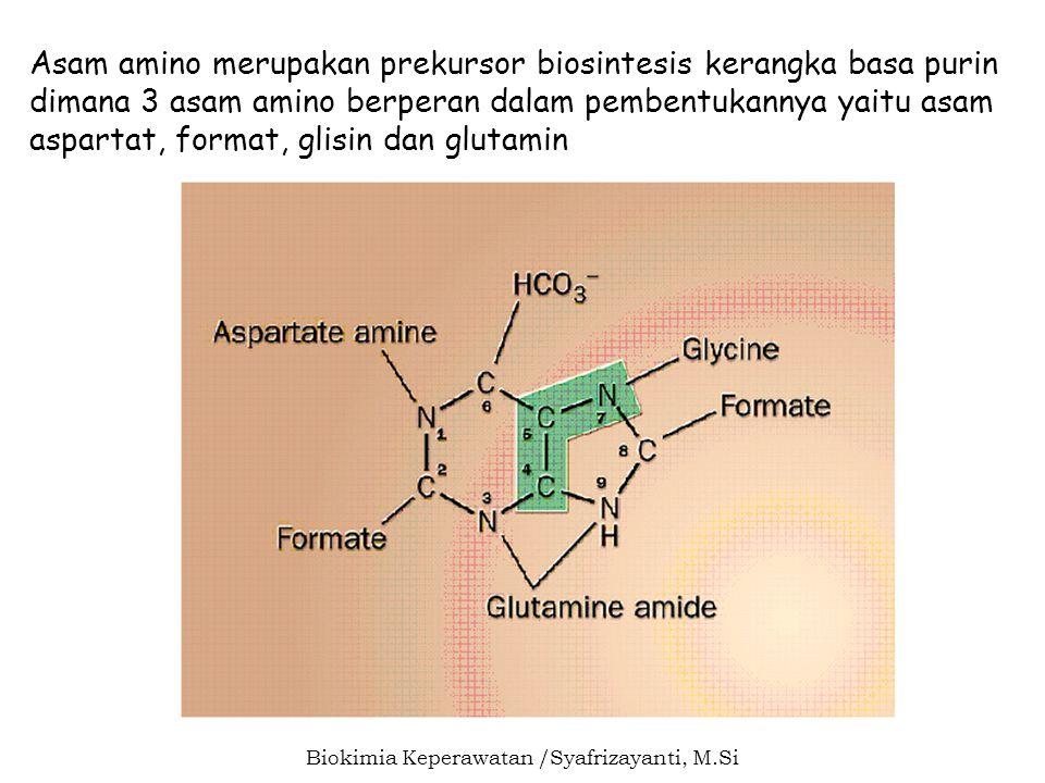 Biokimia Keperawatan /Syafrizayanti, M.Si