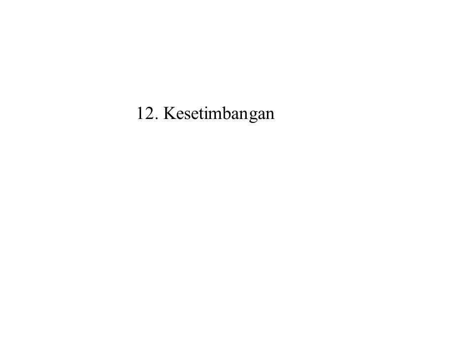 12. Kesetimbangan