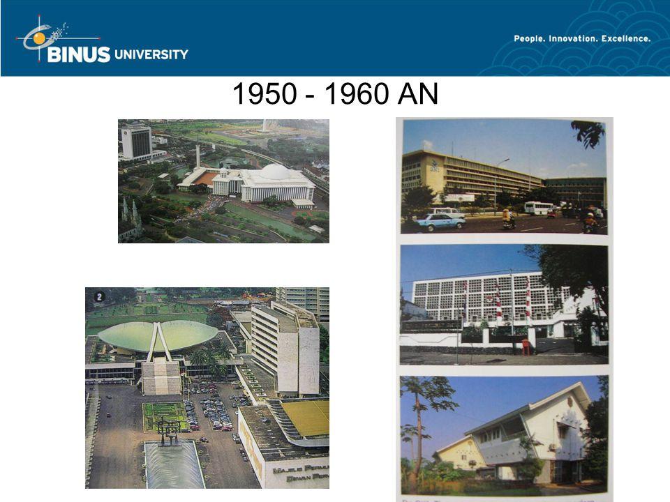 1950 - 1960 AN