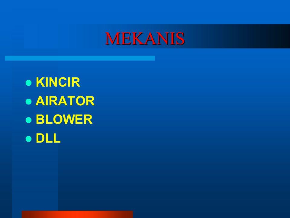 MEKANIS KINCIR AIRATOR BLOWER DLL