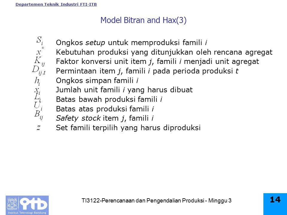 TI3122-Perencanaan dan Pengendalian Produksi - Minggu 3