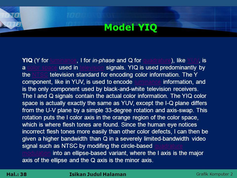 Model YIQ