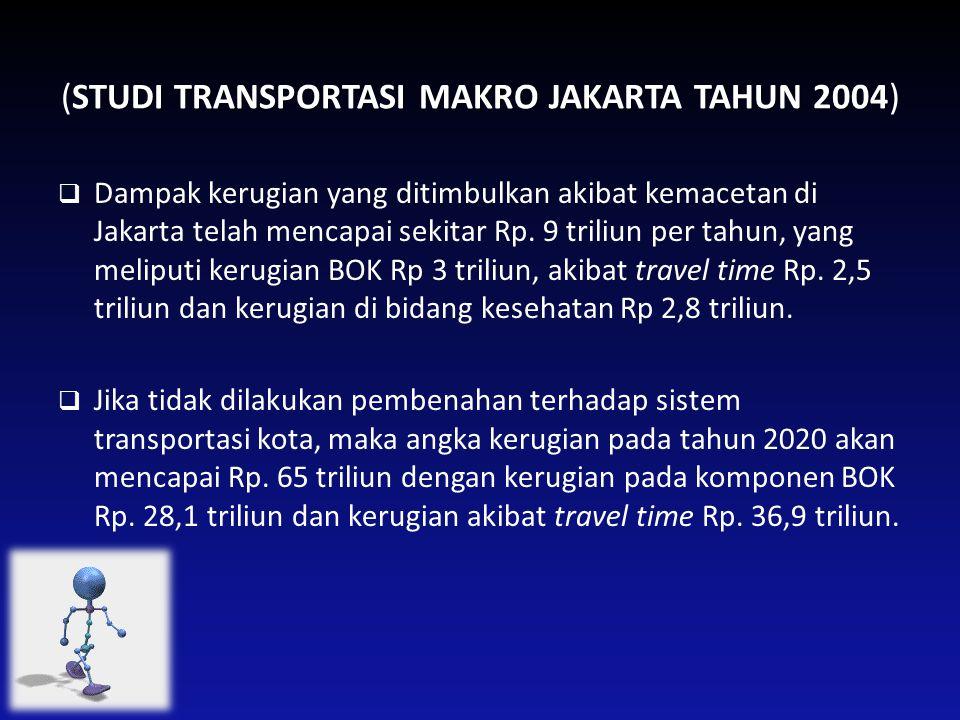 (STUDI TRANSPORTASI MAKRO JAKARTA TAHUN 2004)