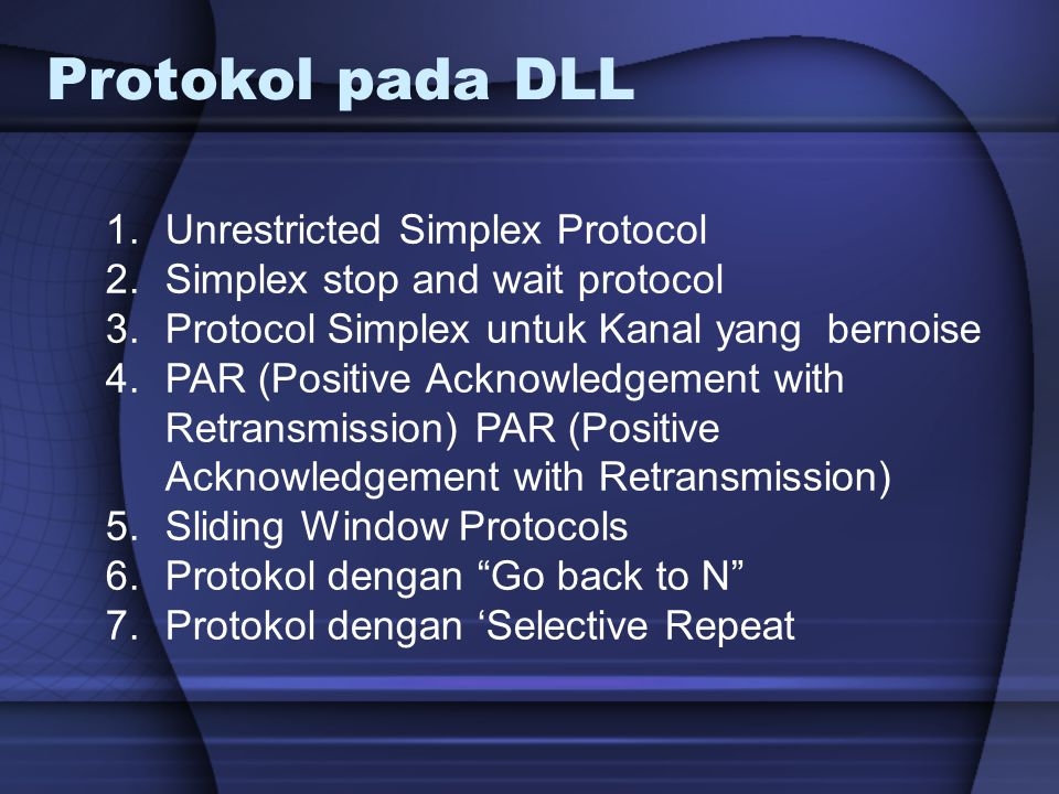 Protokol pada DLL Unrestricted Simplex Protocol