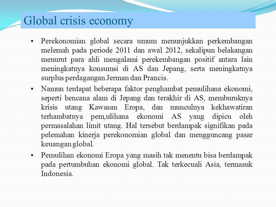 Global crisis economy