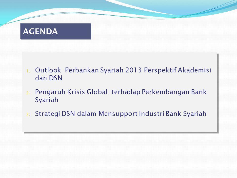 AGENDA Outlook Perbankan Syariah 2013 Perspektif Akademisi dan DSN