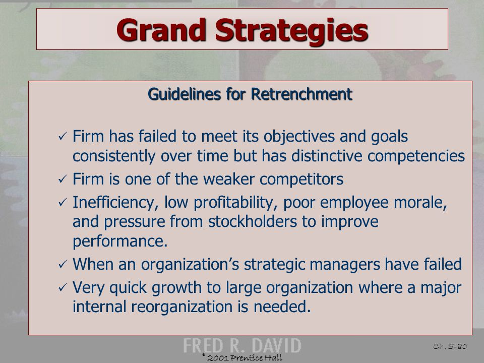 Guidelines for Retrenchment