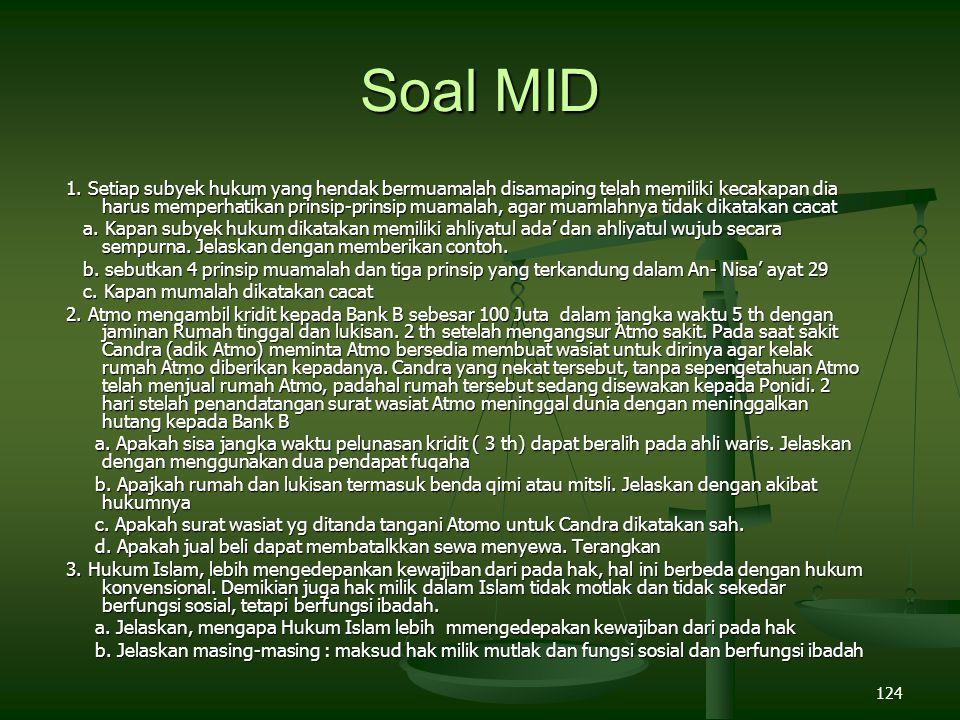 Soal MID