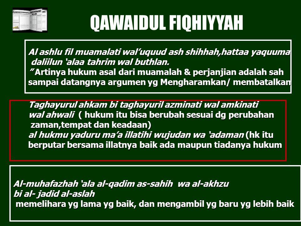 PKPA FH. UII QAWAIDUL FIQHIYYAH