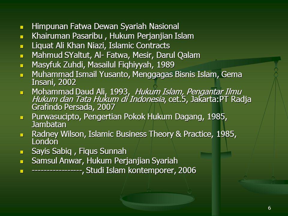 Himpunan Fatwa Dewan Syariah Nasional