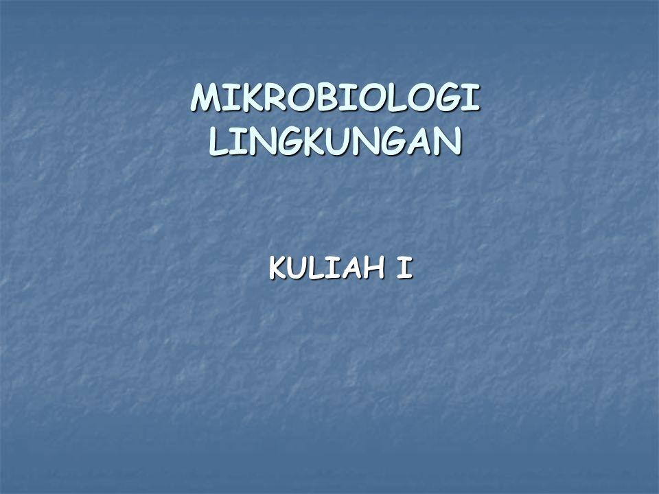 MIKROBIOLOGI LINGKUNGAN