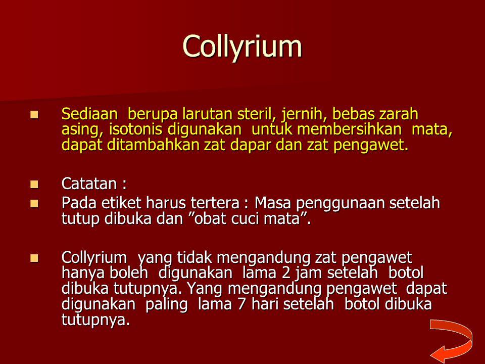 Collyrium