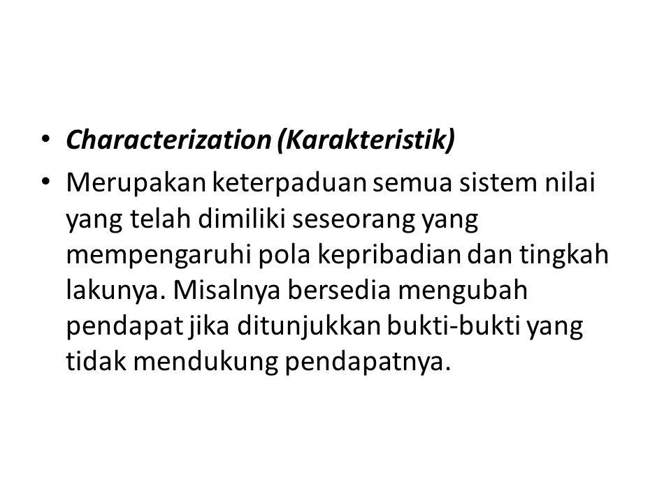 Characterization (Karakteristik)
