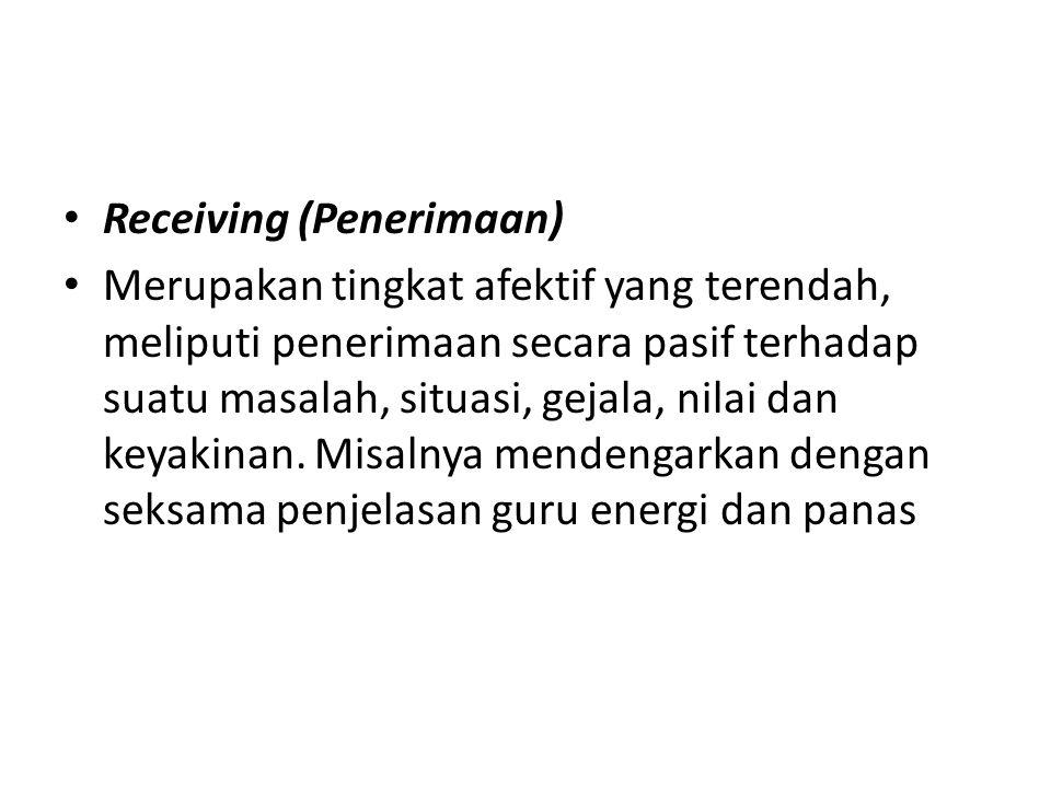 Receiving (Penerimaan)