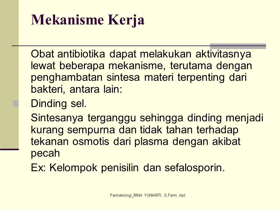 Farmakologi_RINA YUNIARTI, S.Farm, Apt.