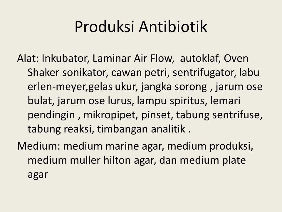 Produksi Antibiotik