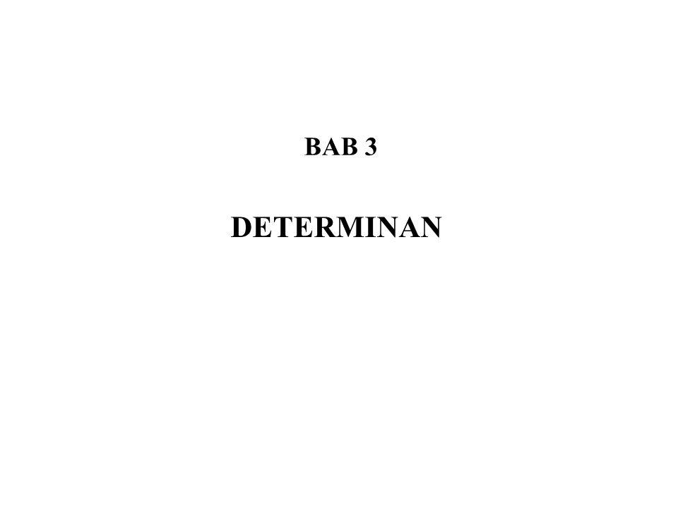 BAB 3 DETERMINAN