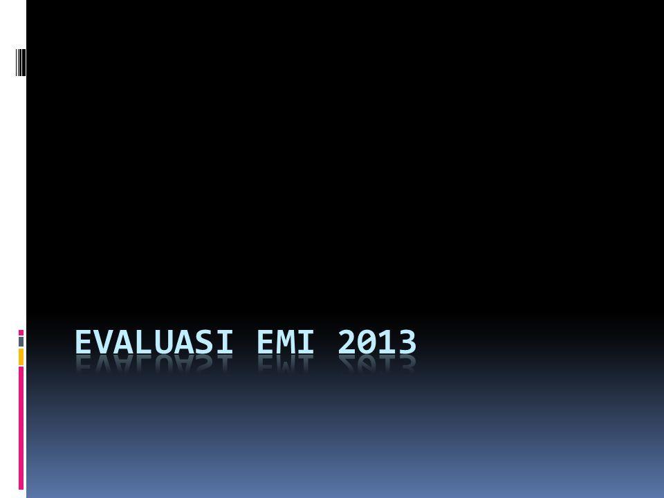 Evaluasi EMI 2013