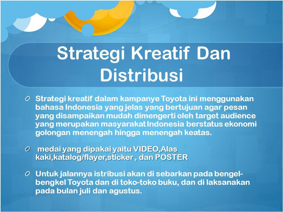Strategi Kreatif Dan Distribusi