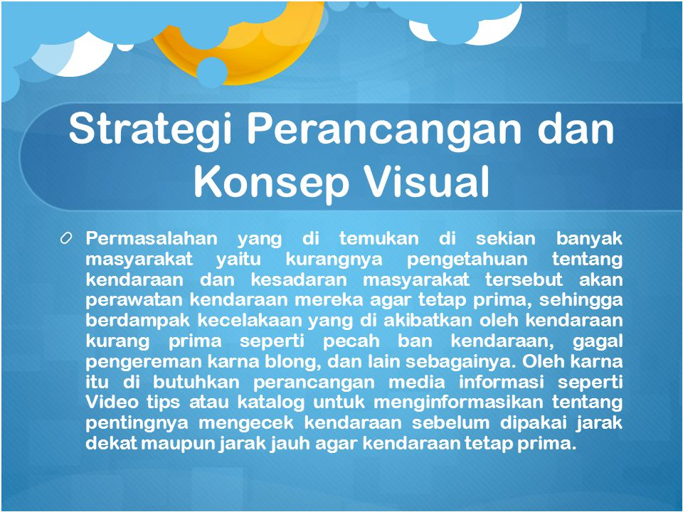 Strategi Perancangan dan Konsep Visual