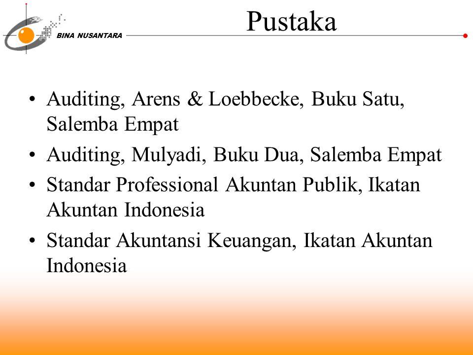 Pustaka Auditing, Arens & Loebbecke, Buku Satu, Salemba Empat