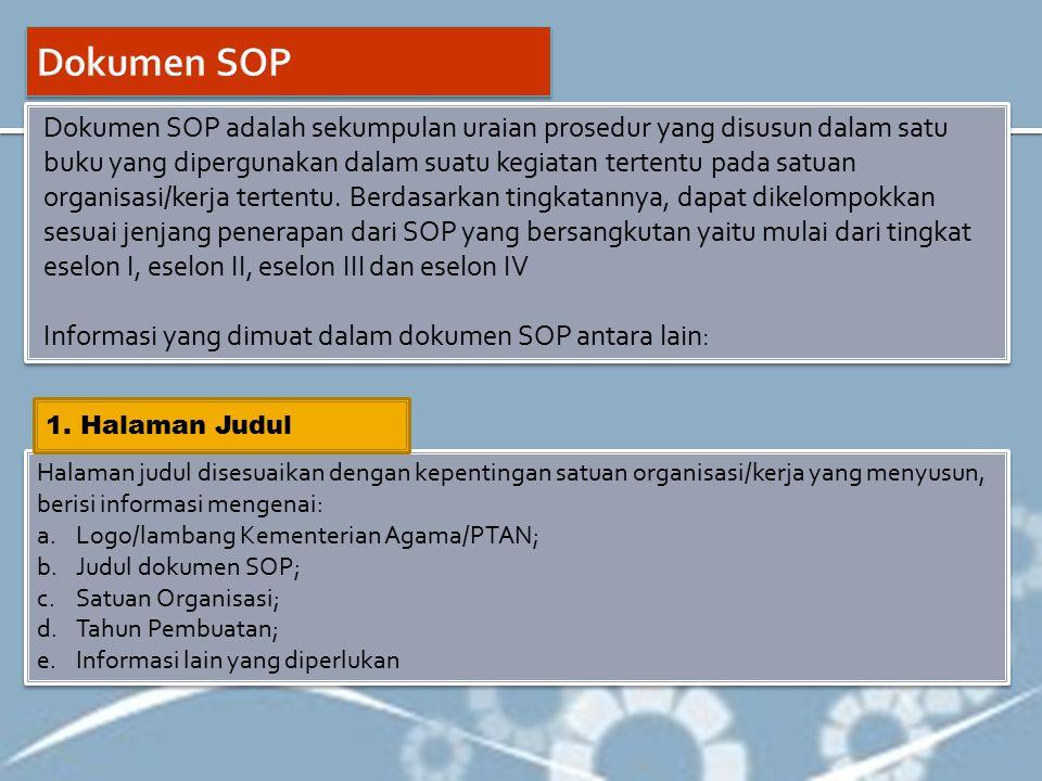 Dokumen SOP