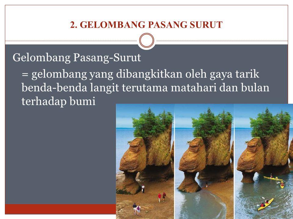 2. GELOMBANG PASANG SURUT