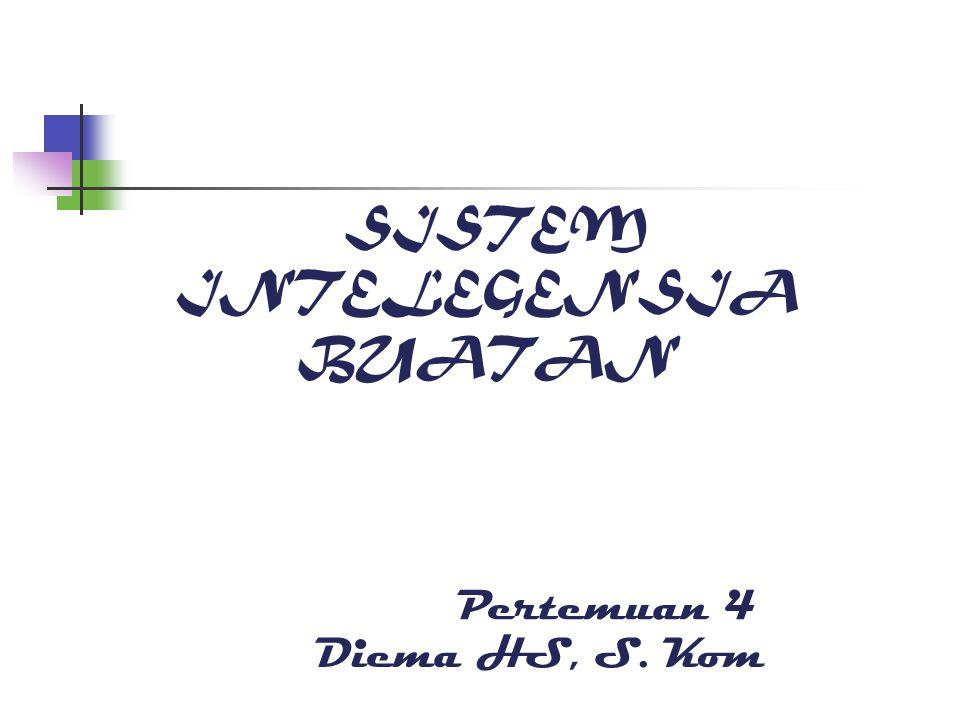 SISTEM INTELEGENSIA BUATAN