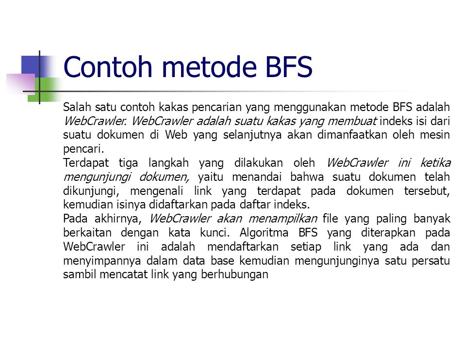 Contoh metode BFS