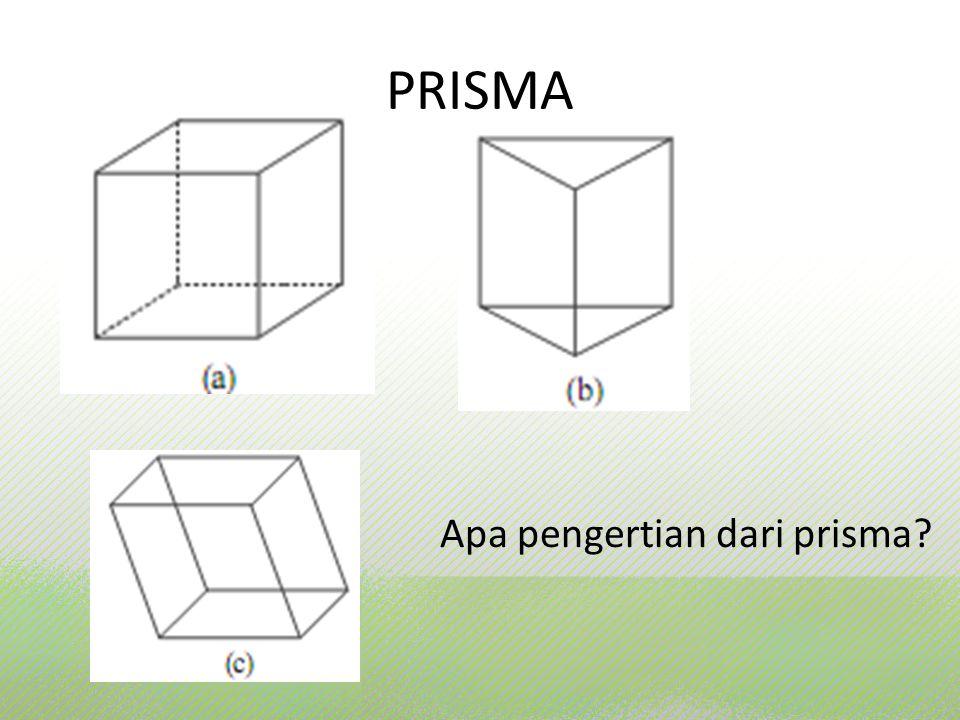 Apa pengertian dari prisma
