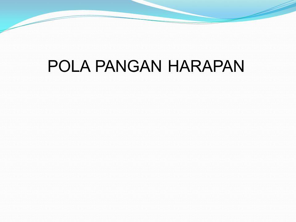 POLA PANGAN HARAPAN