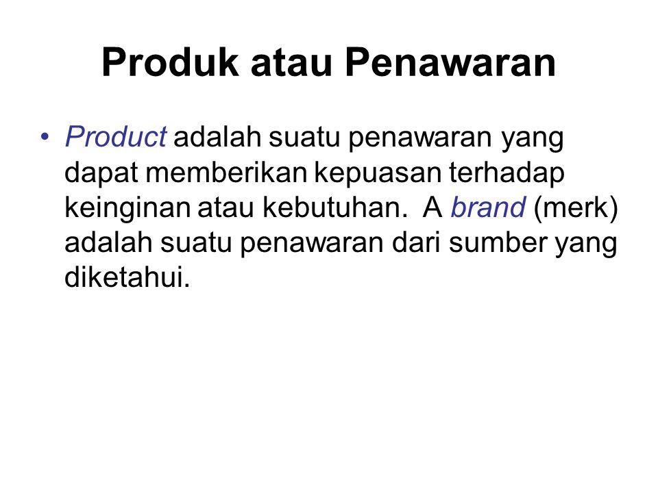 Produk atau Penawaran