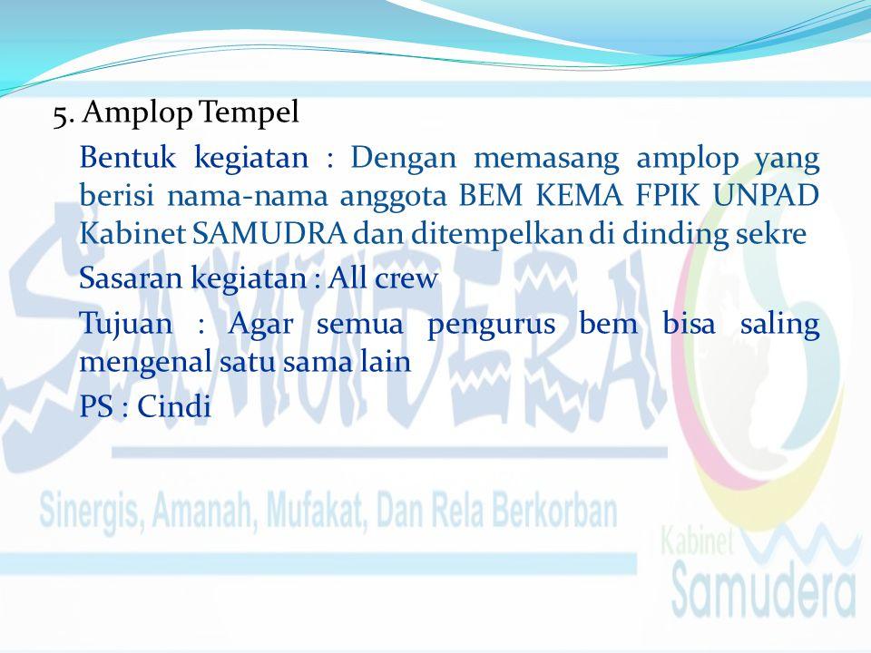 5. Amplop Tempel