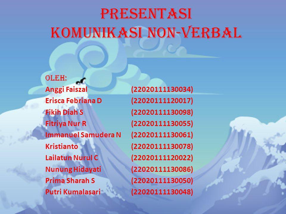 Presentasi Komunikasi Non-Verbal