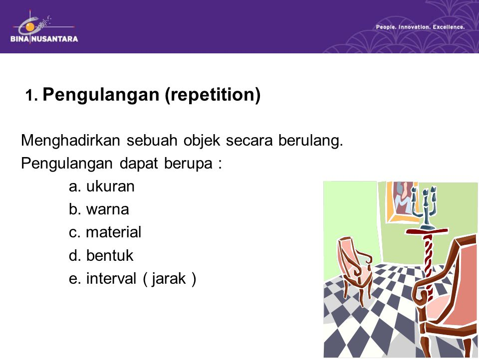 1. Pengulangan (repetition)