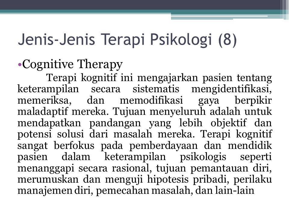Jenis-Jenis Terapi Psikologi (8)