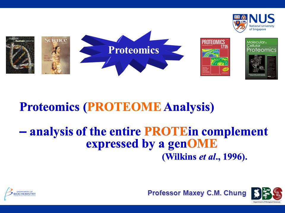 Proteomics (PROTEOME Analysis)