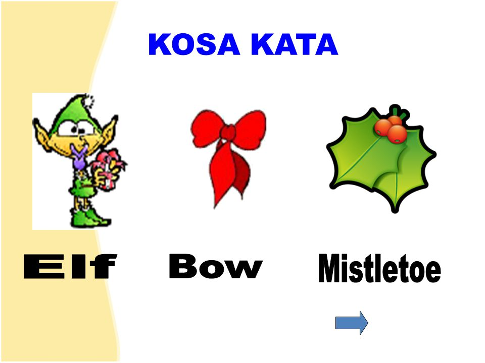 KOSA KATA Elf Bow Mistletoe