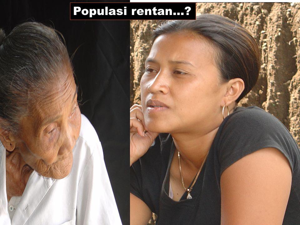 Populasi rentan…