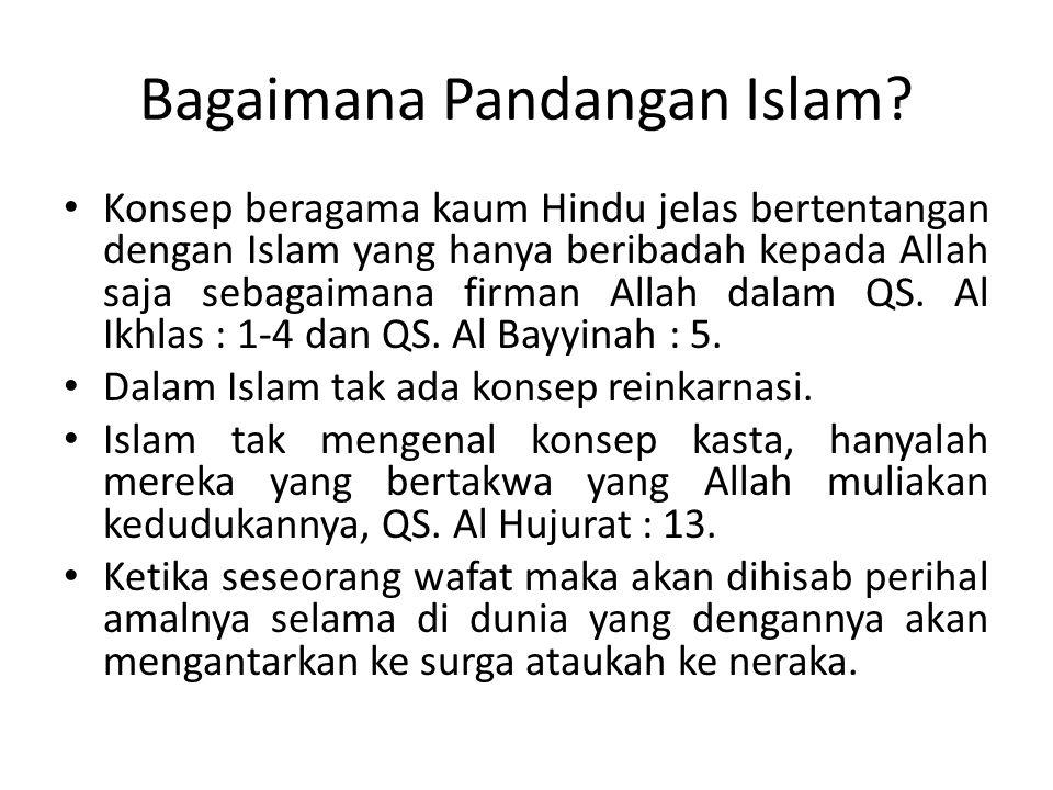 Bagaimana Pandangan Islam