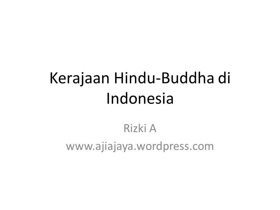 Kerajaan Hindu-Buddha di Indonesia
