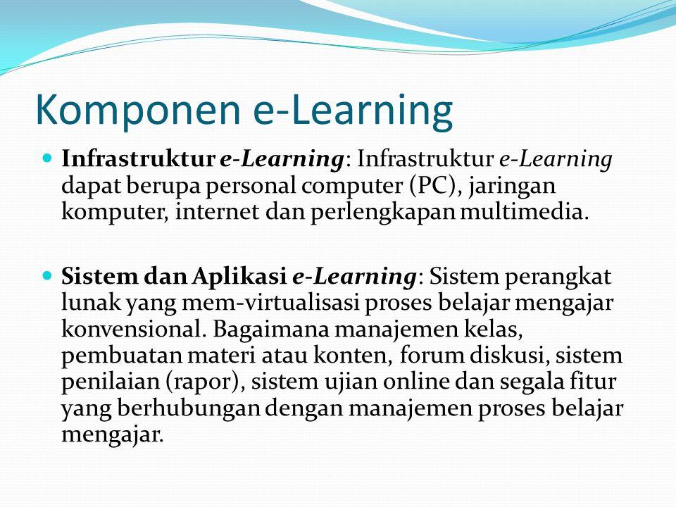 Komponen e-Learning