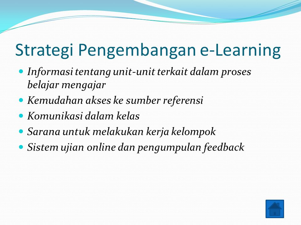 Strategi Pengembangan e-Learning