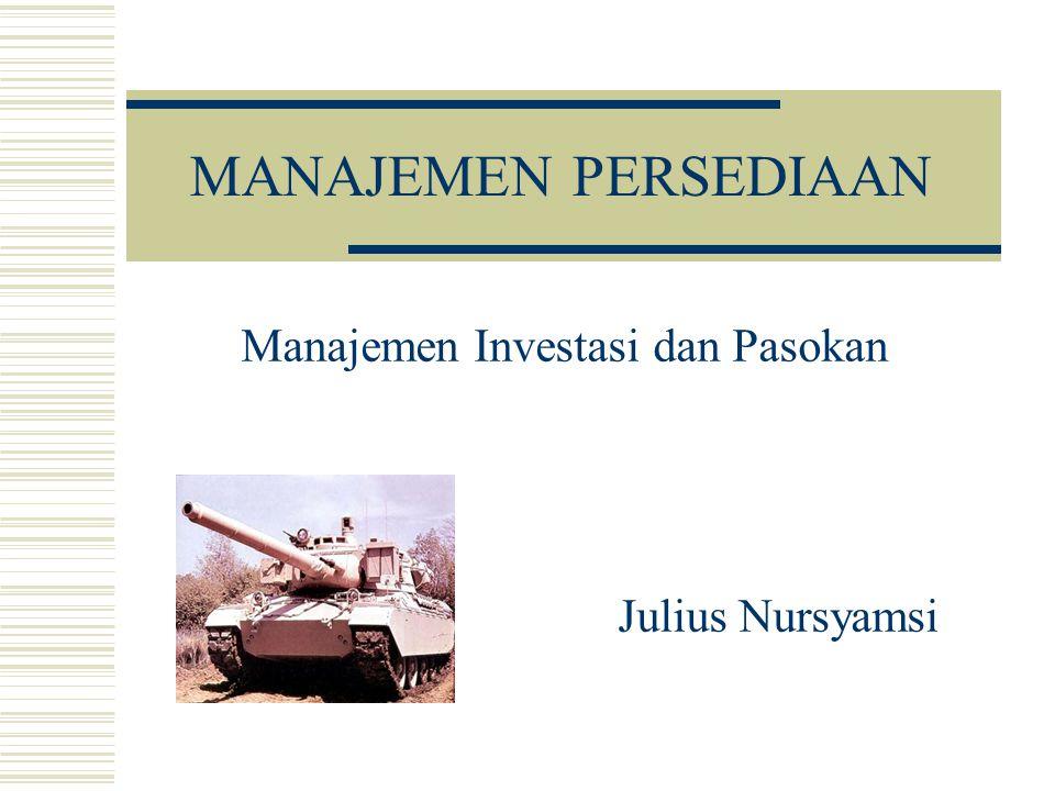 Manajemen Investasi dan Pasokan Julius Nursyamsi