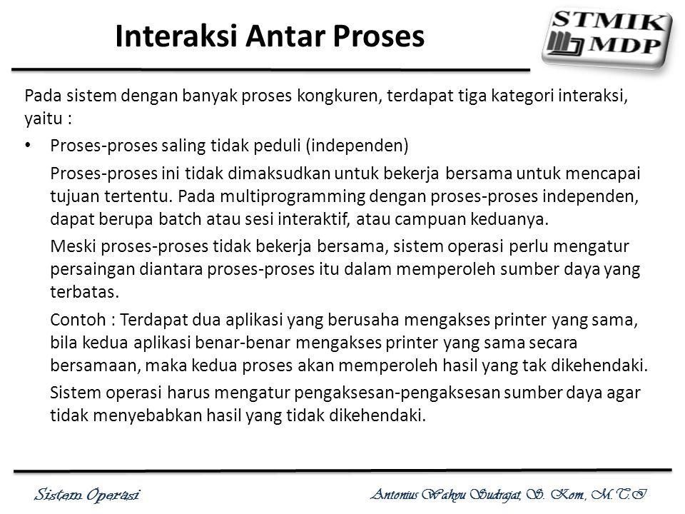 Interaksi Antar Proses