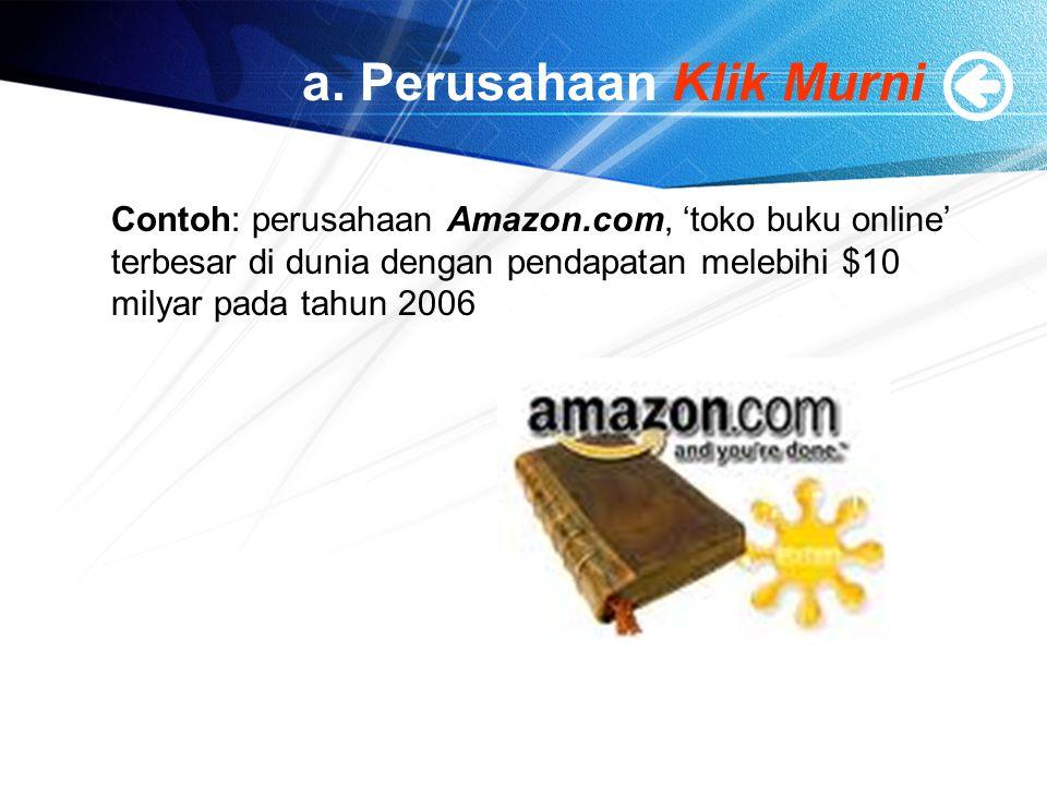a. Perusahaan Klik Murni