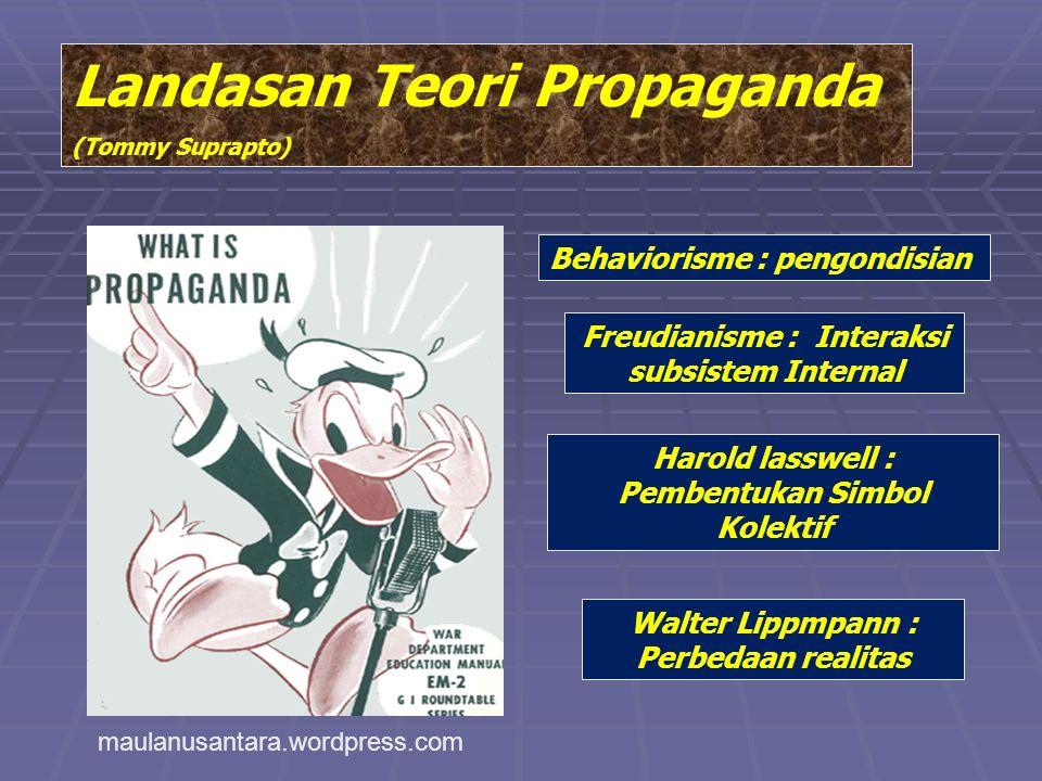 Landasan Teori Propaganda