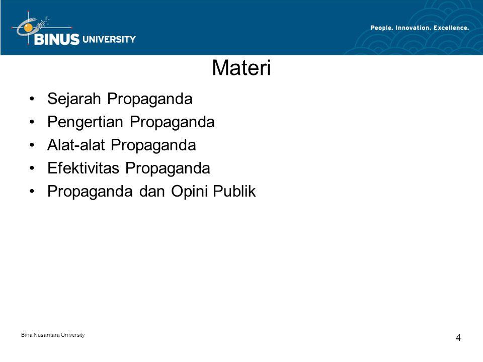 Materi Sejarah Propaganda Pengertian Propaganda Alat-alat Propaganda