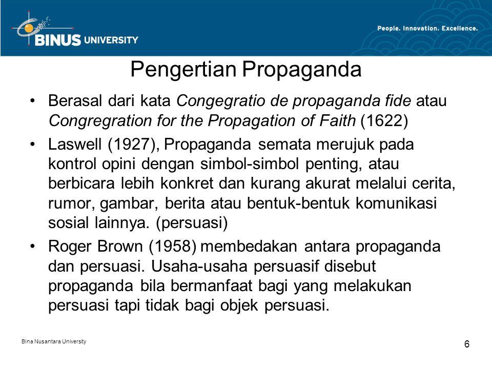 Pengertian Propaganda