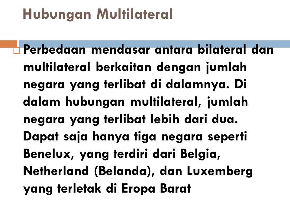 Hubungan Multilateral